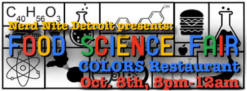 Nerd Nite presents: FOOD SCIENCE FAIR